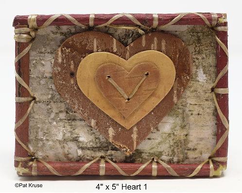 """Heart 1 - 4"""" x 5"""""""