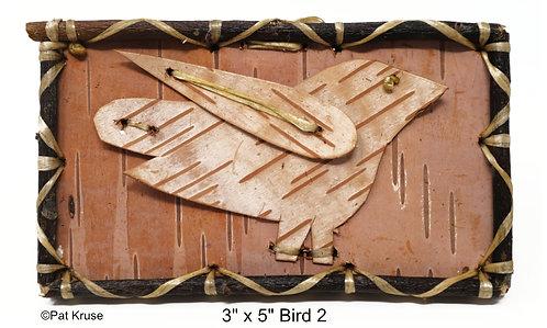 """Bird 2 - 3"""" x 5"""""""