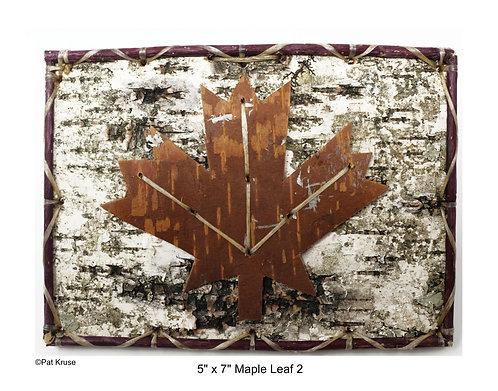 """Maple Leaf 2 - 5"""" x 7"""""""