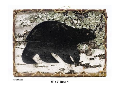 """Bear 4 - 5"""" x 7"""""""
