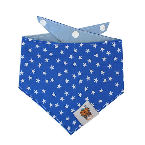 Blue Star Dog Bandanna