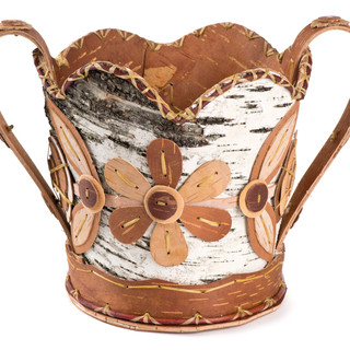 Ojibwe Flower Basket