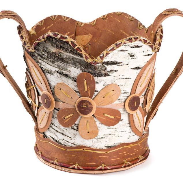 Ojibwe Flower Basket