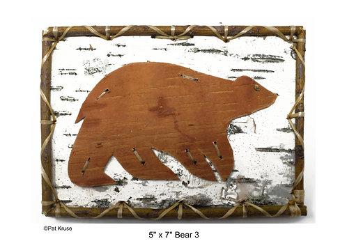 """Bear 3 - 5"""" x 7"""""""