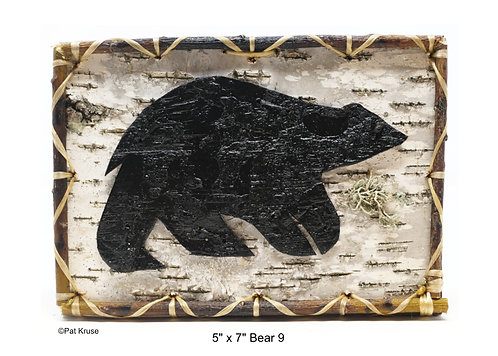 """Bear 9 - 5"""" x 7"""""""