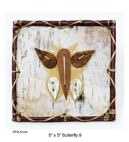 """Butterfly 9 - 5"""" x 5"""""""