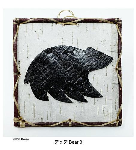 """Bear 3 - 5"""" x 5"""""""