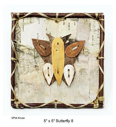 """Butterfly 8 - 5"""" x 5"""""""