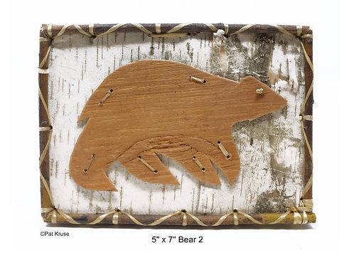 """Bear 2 - 5"""" x 7"""""""
