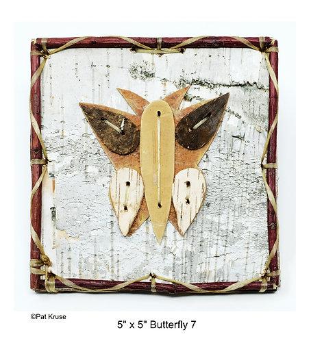 """Butterfly 7 - 5"""" x 5"""""""