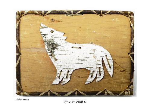 """Wolf 4 - 5"""" x 7"""""""