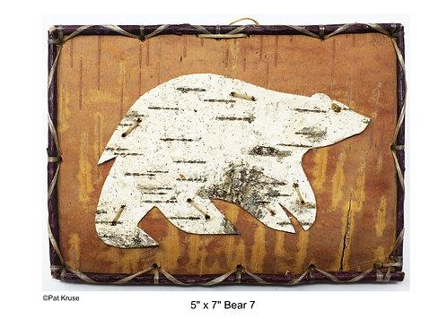 """Bear 7 - 5"""" x 7"""""""