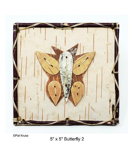 """Butterfly 2 - 5"""" x 5"""""""