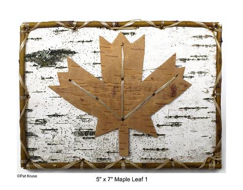 """Maple Leaf 1 - 5"""" x 7"""""""