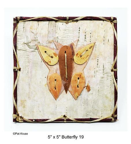 """Butterfly 19 - 5"""" x 5"""""""