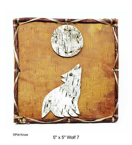 """Wolf 7 - 5"""" x 5"""""""