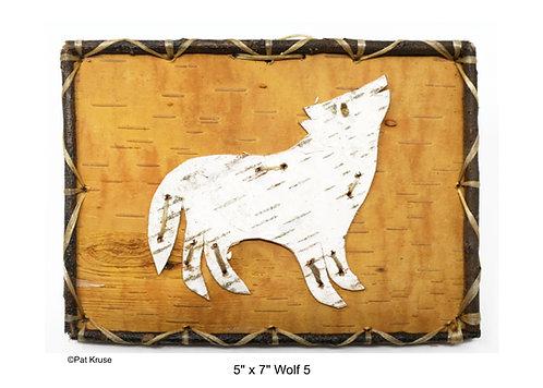 """Wolf 5 - 5"""" x 7"""""""