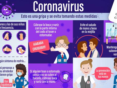 Prevención Coronavirus (COVID-19)
