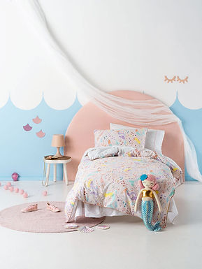 Little Mermaid Duvet Cover Set