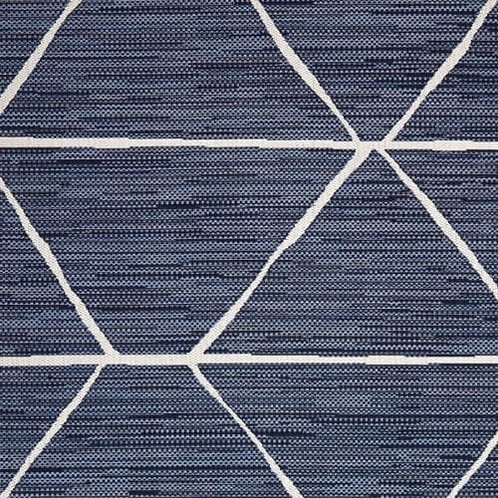Elementary Geometric Outdoor Rug