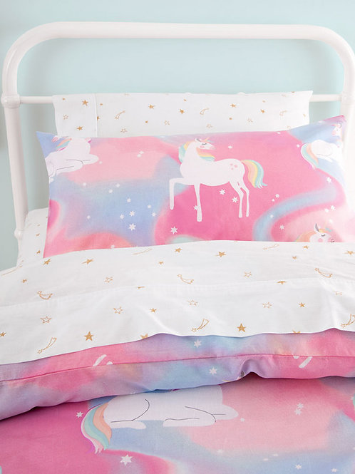 Sleepy Unicorn Duvet Cover Set