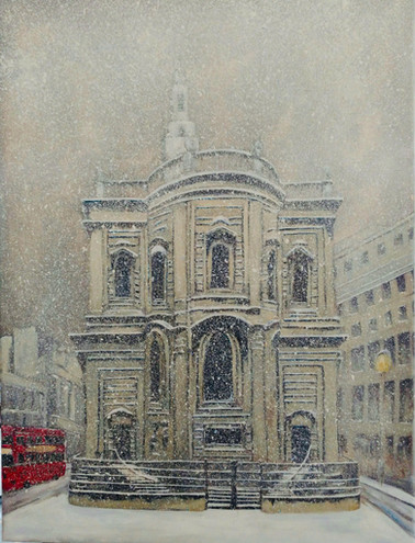 the day it snowed in London