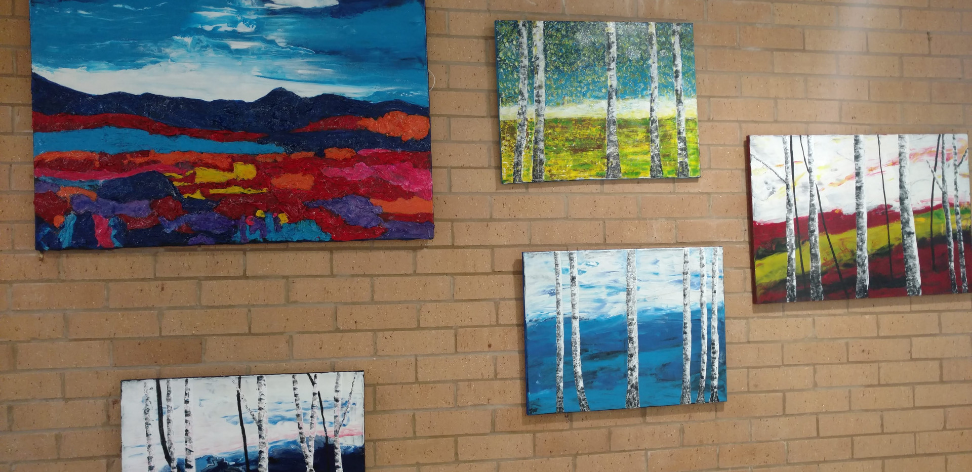 Silver birches. Everyone loved this project