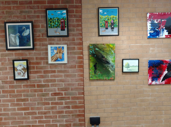 more artwork from the oodls of art club