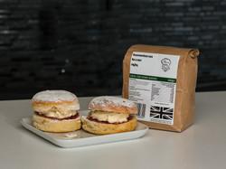cream jam scones baking mix by Chef Pete