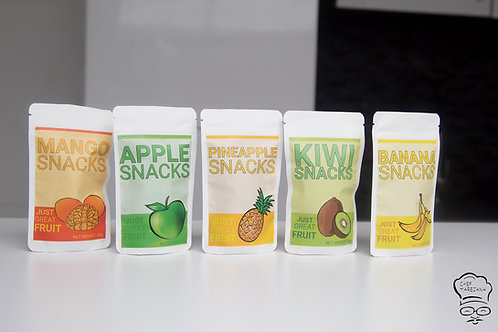 Dried Fruit Snack Multipack (20 packs) by Chef Marezana