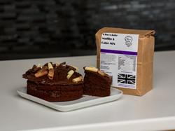 Chocolate cake muffin mix by Chef Marezana