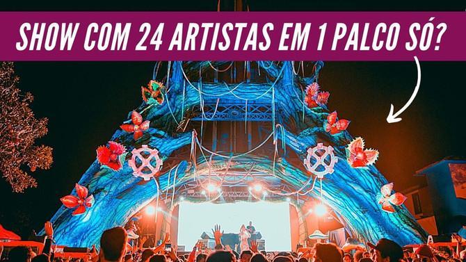 1 Palco e 24 Artistas. Veja como foi essa experiência #AbreOJogoMarcos