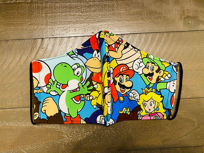 Nintendo Character cloth face mask