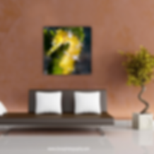 Yellow Seahorse Room Display