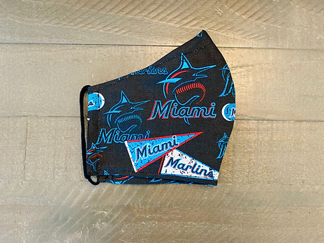 miami marlins cloth face mask
