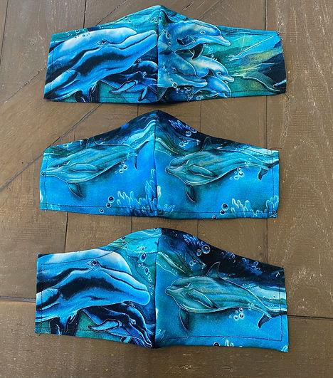 sea-life cloth face masks