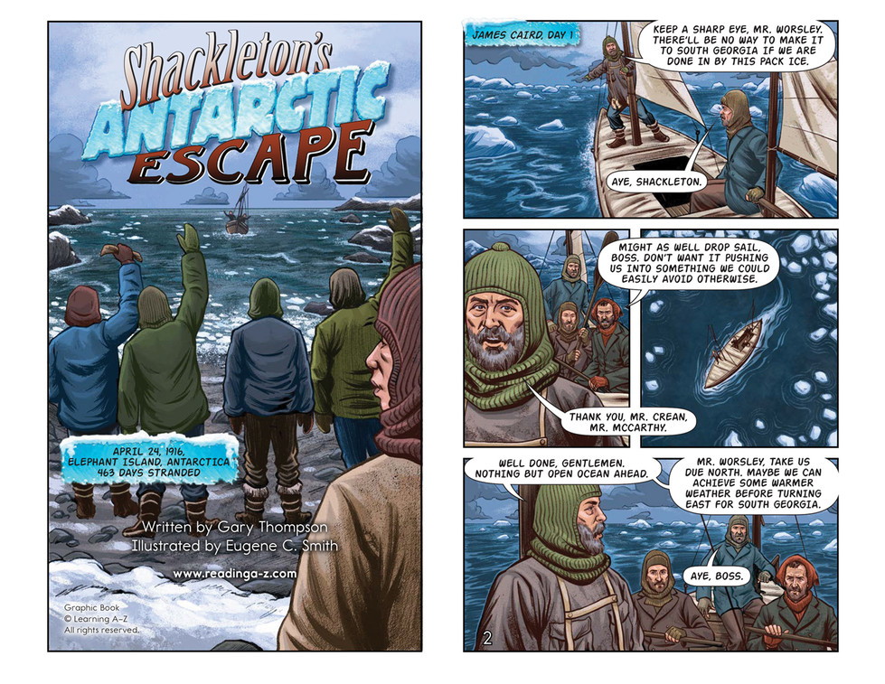 Shackleton's Antarctic Escape