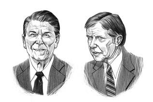Reagan & Carter