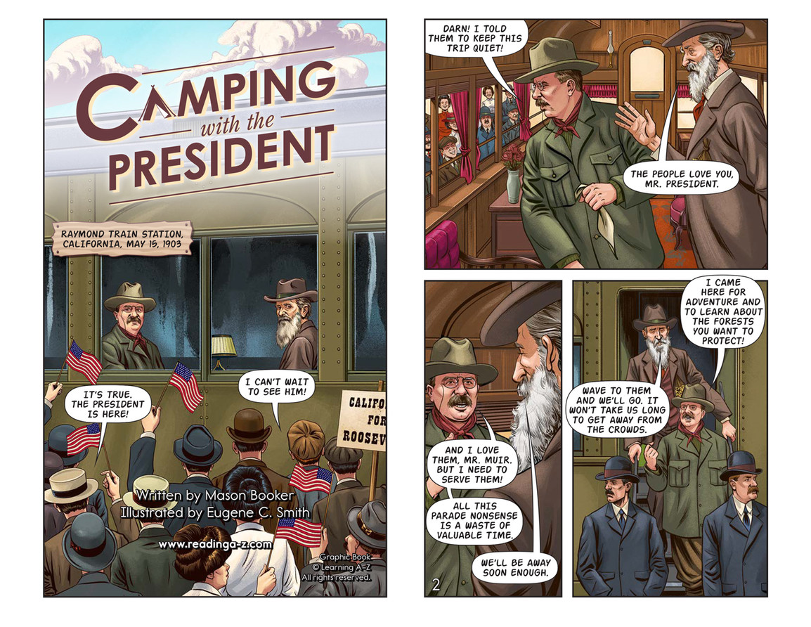 Camping with the President