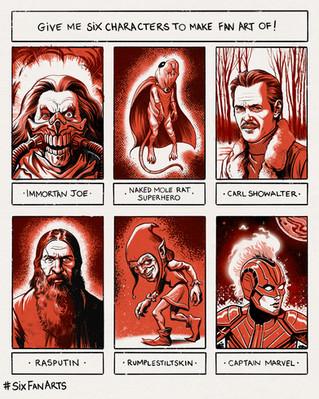#6FanArts - Red Edition