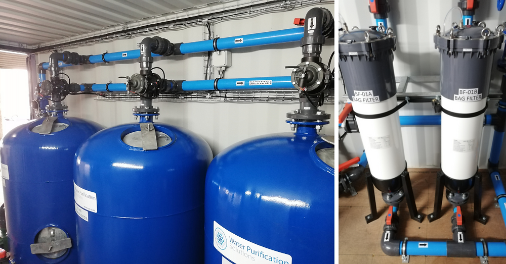 Borehole Water Treatment Filters