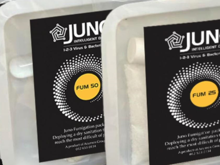 Juno Fumigation Packs: 123 Virus Free