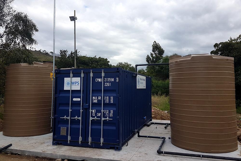 Borehole Water Treatment Plant