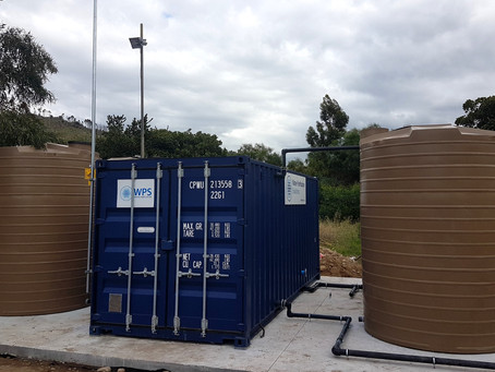 Borehole Water Treatment for Water Security at Local Prison