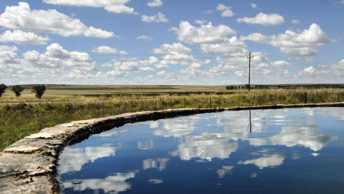 treated borehole water