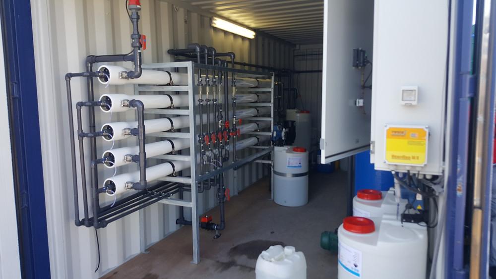 Borehole water treatment
