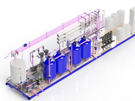 Work in Progress: Custom Water Treatment Plant for a Tobacco Company