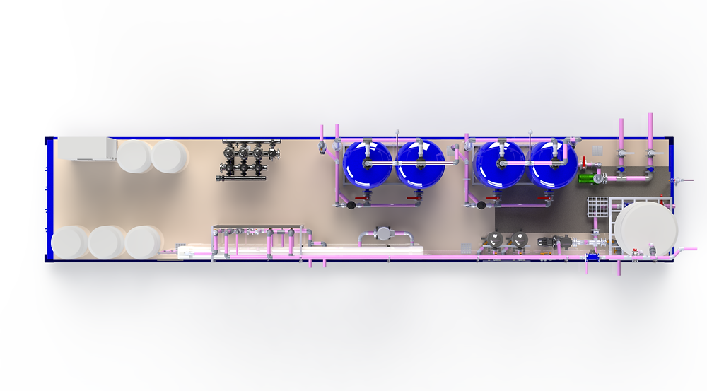 Mock Design of Water Treatment plant for Tobacco companies