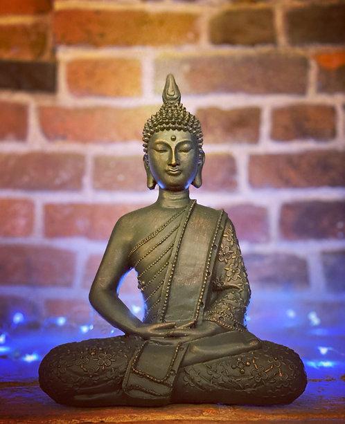 Blue\Copper tone Buddha