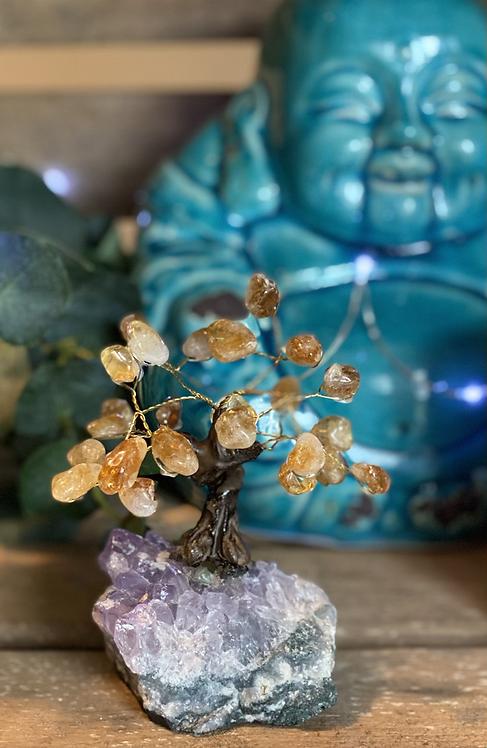 Citrine Bonsai Tree